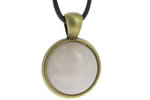 Pendentifs Style Bronze Cabochon Rond 18 mm