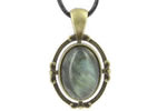 Pendentifs Style Bronze Cabochon Ovale 18x13 mm